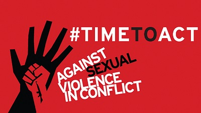 June 19: International Day For The Elimination Of Sexual Violence In Conflict