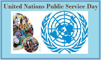 June 23: United Nations Public Service Day