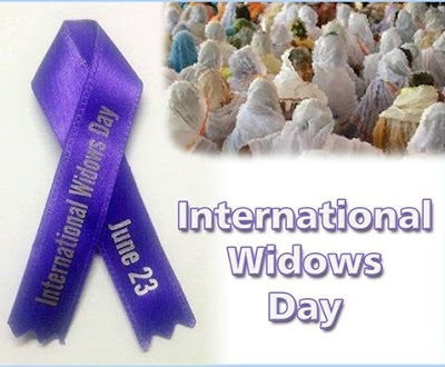 June 23: International Widows' Day