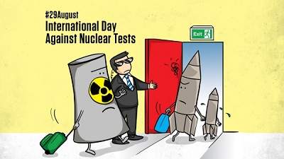 International Day Against Nuclear Tests > 29 August