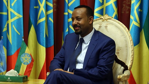 CONGRATULATORY MESSAGE TO YOUR EXCELLENCY DR ABIY AHMED, PRIME MINISTER OF ETHIOPIA, ON THE CONFERMENT OF THE PRESTIGIOUS NOBEL PRIZE FOR PEACE AWARD ON YOUR EXCELLENCY