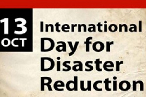International Day for Disaster Risk Reduction > 13 October