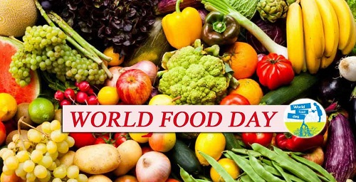 World Food Day >> 16 October