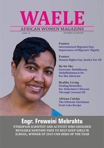 WAELE – AFRICAN WOMEN MAGAZINE >> DECEMBER 2019 EDITION