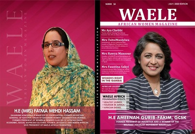 WAELE AFRICAN WOMEN MAGAZINE – JULY EDITION 2020