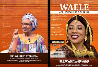 WAELE AFRICAN WOMEN MAGAZINE AUGUST 2020 EDITION