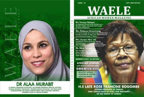 WAELE AFRICAN WOMEN MAGAZINE SEPTEMBER 2020 EDITION