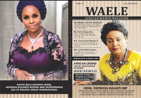WAELE AFRICAN WOMEN MAGAZINE OCTOBER 2020 EDITION