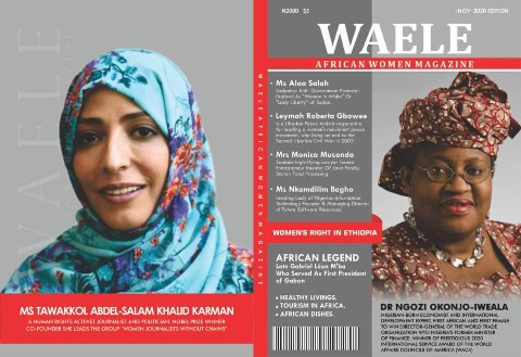 WAELE AFRICAN WOMEN MAGAZINE NOVEMBER 2020 EDITION
