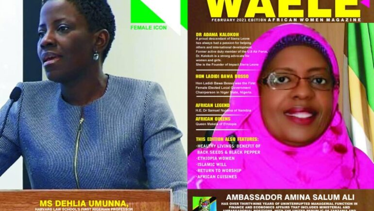 WAELE AFRICAN WOMEN MAGAZINE FEBRUARY 2021 EDITION