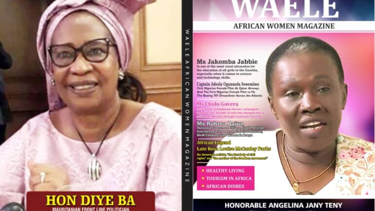 WAELE AFRICAN WOMEN MAGAZINE JANUARY 2021 EDITION