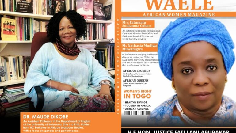 WAELE AFRICAN WOMEN MAGAZINE MARCH 2021 EDITION