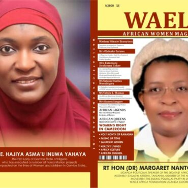 WAELE AFRICAN WOMEN MAGAZINE APRIL 2021 EDITION
