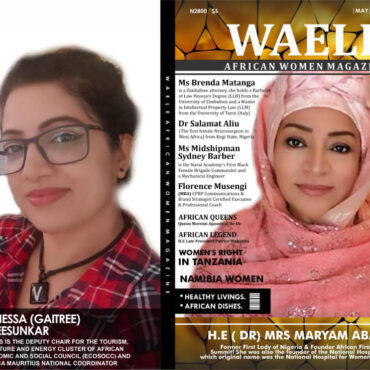 WAELE AFRICAN WOMEN MAGAZINE MAY 2021 EDITION